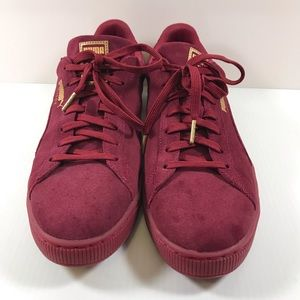7642a5da67f7 Puma Shoes - Puma Suede Foil FS 366096-03 Men Sz 13 Burgundy